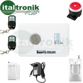 ANTIFURTO WIRELESS G10C ALLARME CASA GSM/SMS CONTROLLO APP ANDROID INTERFONO