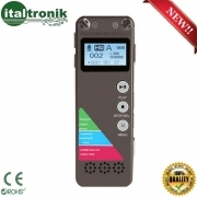 REGISTRATORE VOCALE 8GB SPY SPIA DIGITAL VOICE RECORDER AMBIENTALE