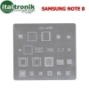 5 STENCIL RIPARAZIONE SMARTPHONE BGA SAMSUNG GALAXY NOTE APPLE IPHONE IPAD