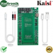 KAISI 9201 TESTER ATTIVATORE BATTERIA IPHONE APPLE  4 4S 5 5S 6 6PLUS 6S 7 7PLUS
