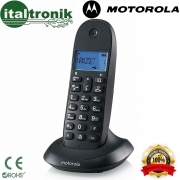 CORDLESS MOTOROLA C1001 LB+ DISPLAY RETROILLUMINATO DIGITALE