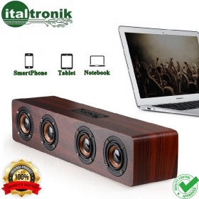 CASSA SPEAKER DOCOOLER W8 ALTOPARLANTE BLUETOOTH AUX TF CARD BATTERIA 3000mAh