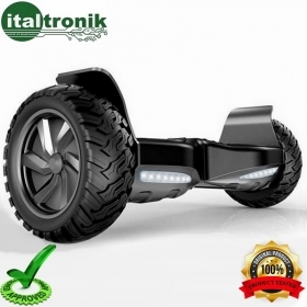 "HOVERBOARD SMART BALANCE WHEEL RUOTE FUORISTRADA DA 8,5"" CON  BLUETOOTH E LED"