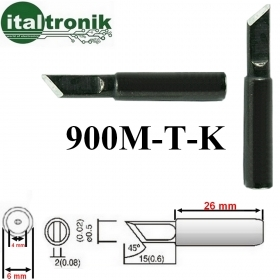 900M-T-K KIT 2 PUNTE 5mm LUNGA