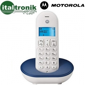 CORDLESS MOTOROLA DIGITALE T101 DECT GAP DISPLAY RETROILLUMINATO